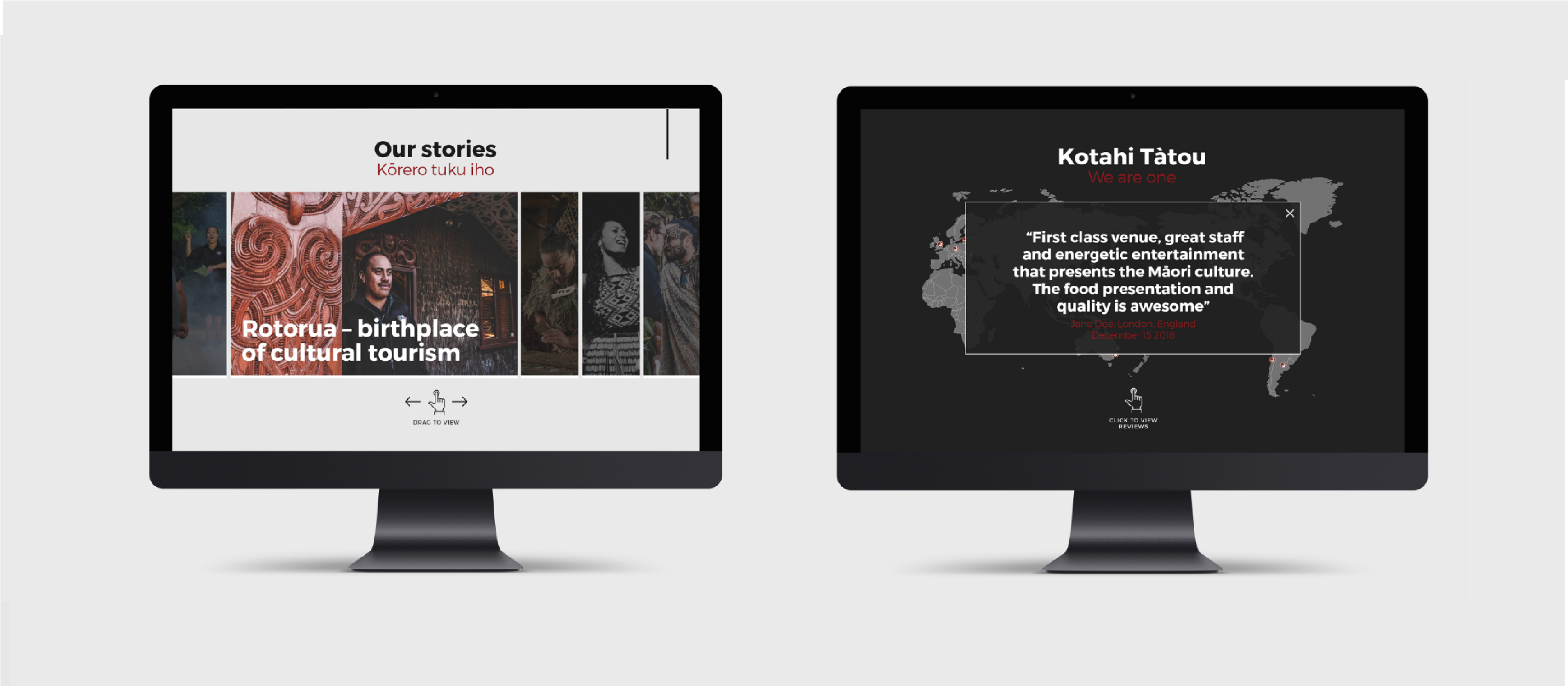 Website Creation Tamaki Maori Village